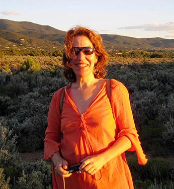 Debra Kaye in Taos